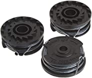 Greenworks .065-Inch Dual Line String Trimmer Replacement Spool 3-Pack 2900719