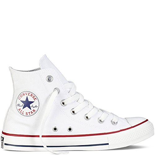 Converse Unisex Chuck Taylor All Star Hi Oxfords Optical White 11 D(M) US