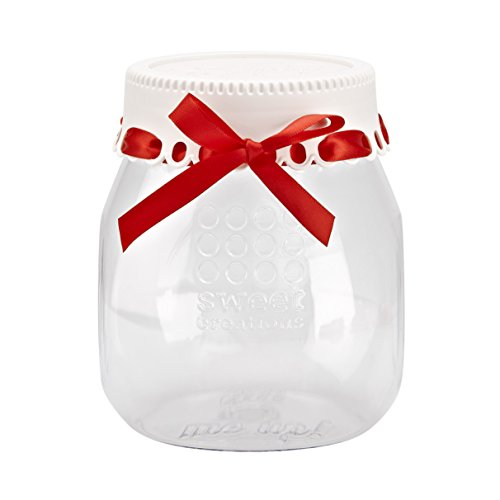 Sweet Creations Christmas Holiday Giftable Jar for Cookie Mix, (Sweets Cookie Jar)