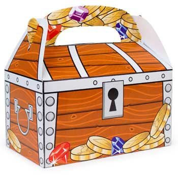 Fun Express Treasure Chest Treat Boxes (1 Dozen), Bulk