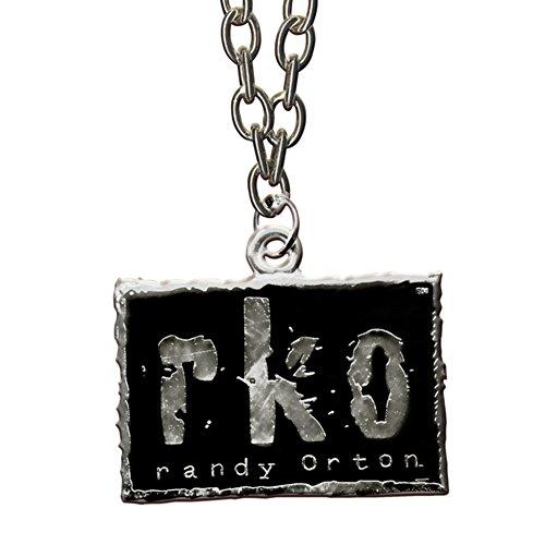 WWE Randy Orton RKO Silver & Black NWO Style Logo Pendant (Wwe Pendant)