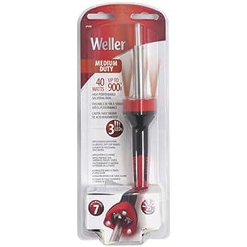 Weller SP40NUS Medium Duty LED Soldering Iron, Red/Black