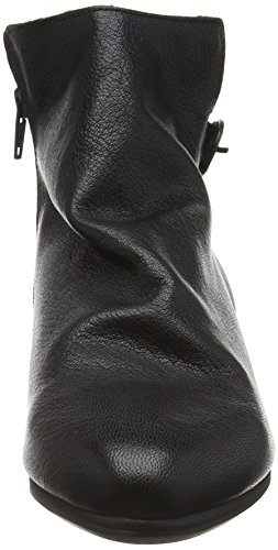 London Musf757fly Botines para FLY Negro 000 Black Mujer AwOqPdW4P