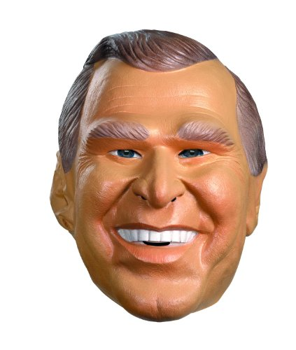 Halloween Bush Costume - George W. Bush Costume Mask