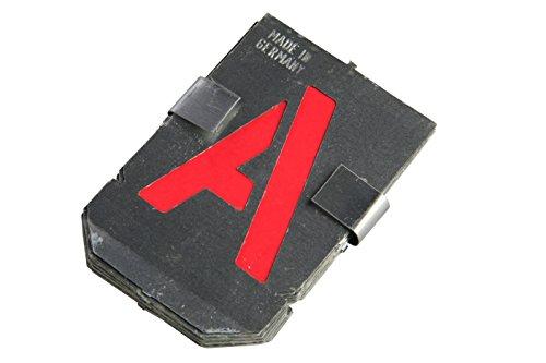 Bonum Signierschablonen, Buchstaben-Set, groß, A-Z, 936838