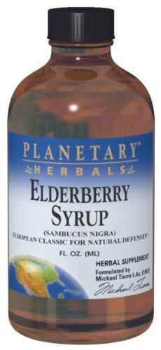 Planetary Herbals Elderberry, Syrup 8 Fl Oz by Planetary Herbals by Planetary Herbals