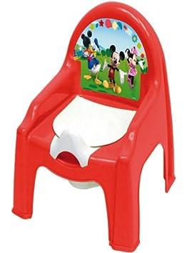 Chaise Petit Pot De Chambre Bebe Mickey Disney Dimension 30 Cm X 35