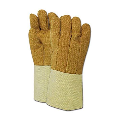 (Magid Glove & Safety KB1314WL Magid Kevlar /PBI High Heat Gloves, Tan , Men's (Fits)