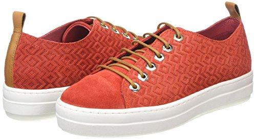 Rojo Mujer Para Zapatillas lollipop Nobrand Luke HYnx4R