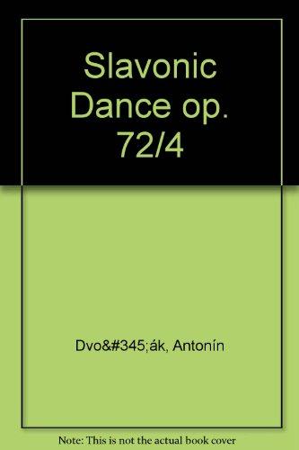 Slavonic Dance Op. 72/4 -Partition+Parties Separees