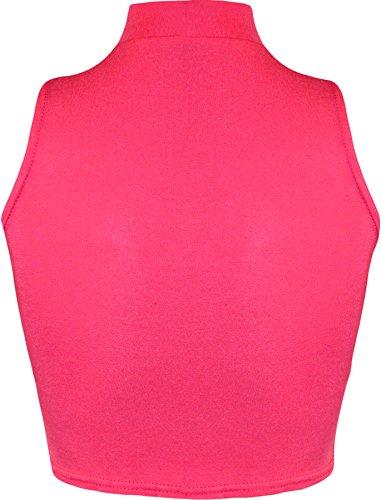 A Tinta Taglie Smanicato Dolcevita Modello Donna E Unita nbsp;nbsp;14 Rosso Corto 8 Da X0OXqY