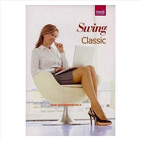 Medi Calze Preventive Swing Classic Collant Calibrato 140 DEN Natural Taglia IV