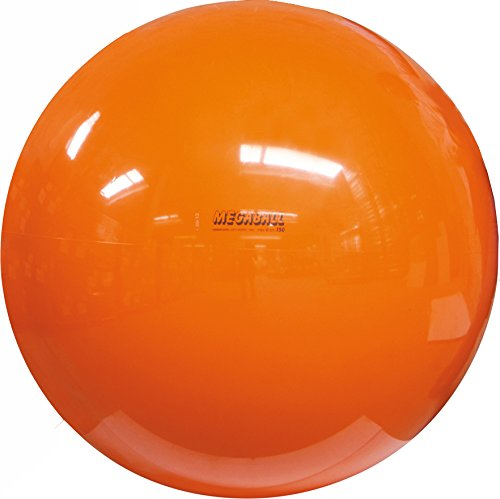 Gymnic Megaball: Group Activity Fitness Ball, Orange (150 cm) by Gymnic