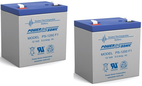 POWERSONIC PS1250F1 PS1250F1 12V - 2 Pack