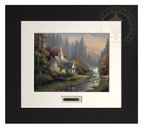 The Forest Chapel - Thomas Kinkade Modern Home Collection (Espresso Frame) by Thomas Kinkade