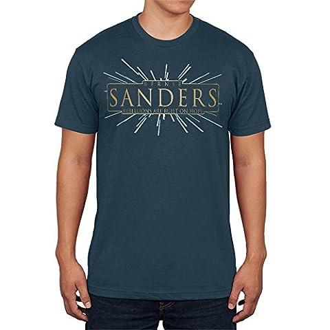 Bernie Sanders Rebellions Are Built On Hope Mens T Shirt Denim LG (Built Sander)