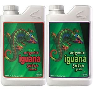 (Iguana Juice Bloom/Grow Advanced Nutrients 1L Organic & Natural Plant Nutrition Bloom &)