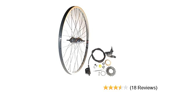 e6f4108a529 Amazon.com : Shimano Nexus 3 speed Rear Wheel w/ Coaster Brake 26
