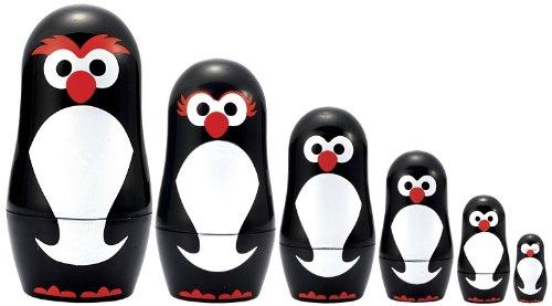 Penguin Nesting Dolls - Matryoshka Madness Micro-Penguin Matryoshka