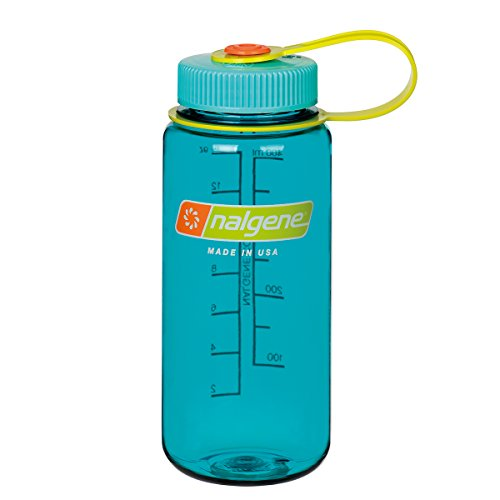 (Nalgene WM 1 PT Sports Water Bottle, Cerulean, 16 oz)