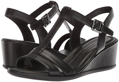ECCO Women's Women's Shape 35 T-Strap Wedge Sandal, Black/Black, 37 M EU (6-6.5 US) by ECCO (Image #5)