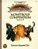 Monstrous Compendium, TSR Inc. Staff, 0786900970