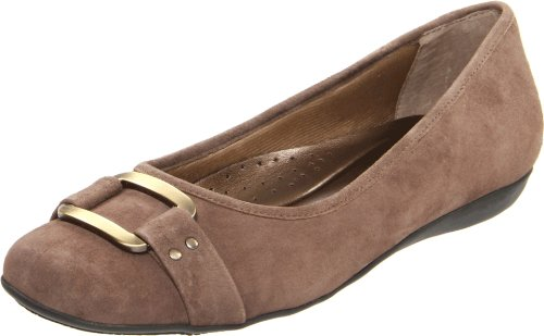 Taupe Ballet Trotters Signature Women's Flat Sizzle wBqwHx8Y
