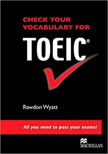 Check Vocabulary for TOEIC SB