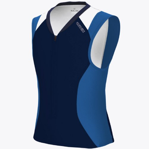 Pearl iZUMi Men's Elite Sleeveless Triathlon Tri Jersey