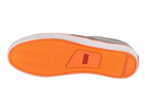 Scarpa Casual Levis Mens Turner Grigio / Arancione