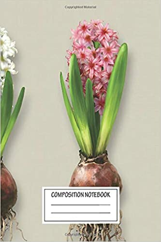 Notebook Hyacinthus Orientalis In Three Shades Journal For