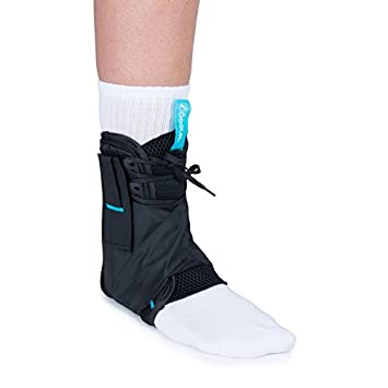 Amazon.com: Ossur Form Fit Ankle Brace - Medium with Figure 8 ...