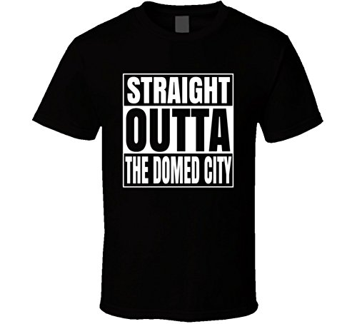 Logan's Run Straight Outta The Domed City Movie T Shirt S Black