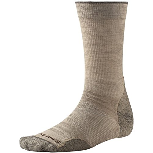 Smartwool PhD Outdoor Light Crew Calcetines de senderismo Oatmeal