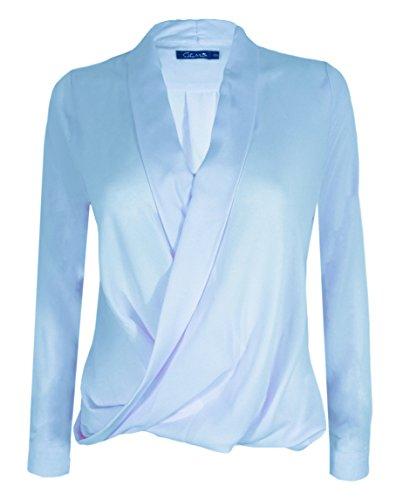 Citrus - Camiseta - para mujer azul celeste