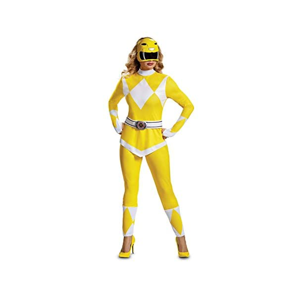 Disguise Womens Yellow Ranger Adult Costume