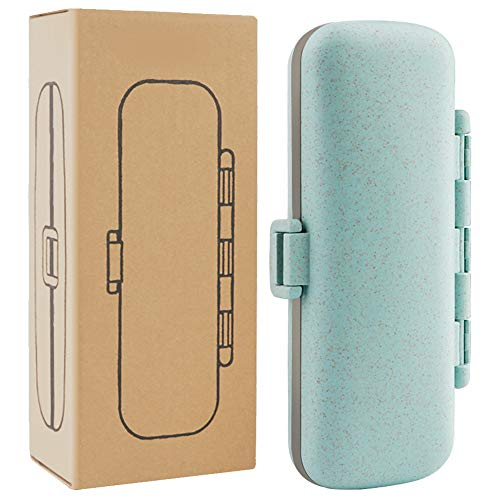 - Pill Organizer - 7 Compartments Travel Pill Case for Pocket or Purse Daily Pill Box for Vitamin Fish Oil Supplements
