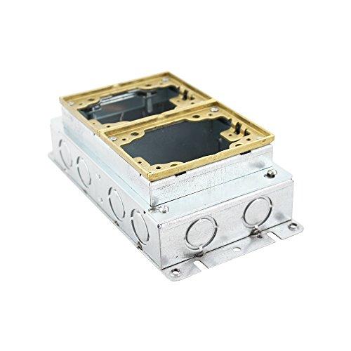 Hubbell Rectangular Floor Box - 5