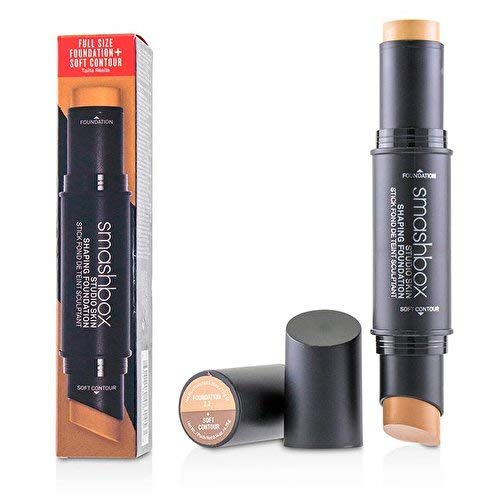 Smashbox Studio Skin Shaping Foundation Stick - 2-2 Light Warm Beige Plus Soft Contour By Smashbox for Women - 2 Pc 0.26oz Foundation