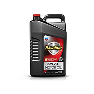 Havoline 223393474 5W-20 Motor Oil - 5 qt.