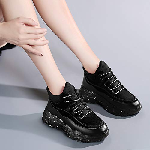 shoes sports shoes shoes Ladies gules Women's shoes fire super running AJUNR style Work suede Autumn casual Tgq8vF