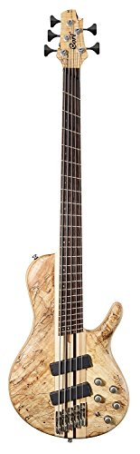 - Cort Artisan Series A5PLUS 5-String Multi Scale Bass, Open Pore Natural Finish