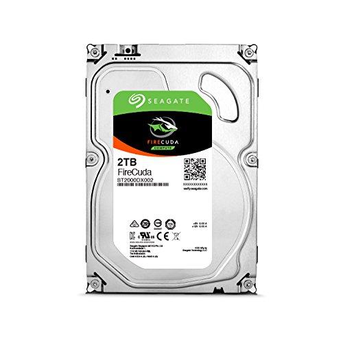Seagate ST2000DX002 FireCuda 2TB, interne Hybrid Festplatte, SSHD, 8,9 cm (3,5 Zoll), 64 MB Cache, SATA 6Gb/s