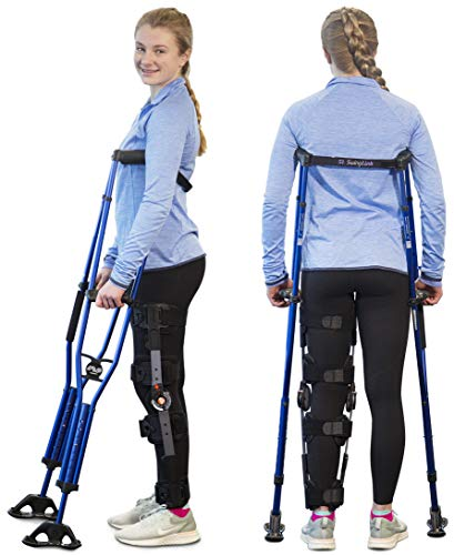 Sport Swings - Get Better Faster! Stable All-Weather Foot for Walking in Rain, Snow, Mud and Sand! Suitable for Injuries, Post Surgery, or Long-Term Users & are More Comfortable, ML