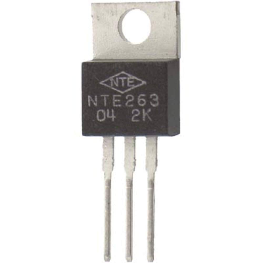 Transistor NPN Silicon Darlington 100V IC 10A TO-220 CASE COMP'L to NTE264, Pack of 20