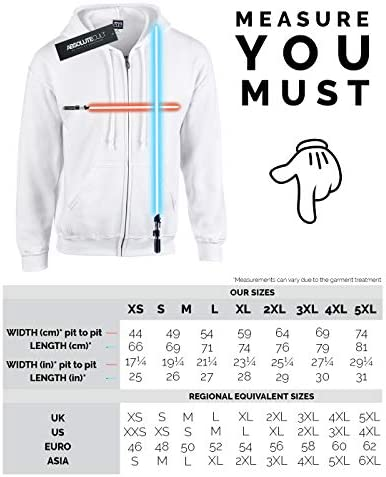 Star Wars Herren The Rise of Skywalker Resistance Illustration Icon Zip Up Hoodie Weiß XXXXX-Large