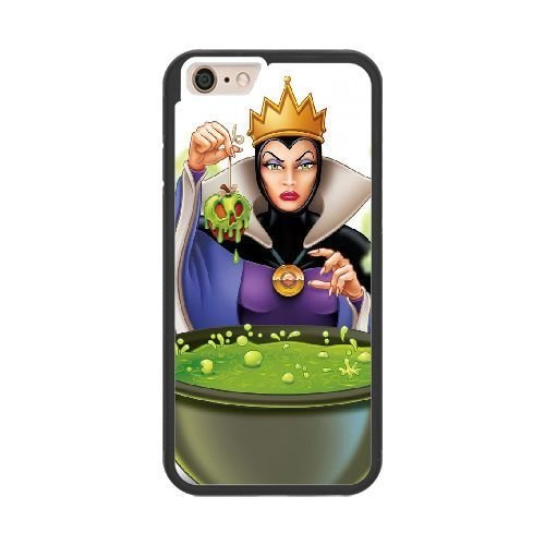 The best gift for Halloween and Christmas iPhone 6 plus 5.5 inch Cell Phone Case Black Freak badass The Evil Queen by disney villains VIK9172311]()