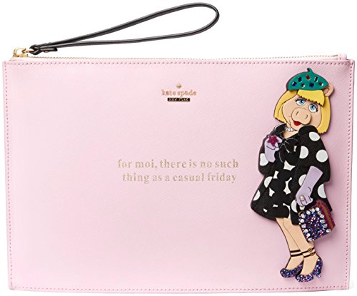 Kate Spade Miss Piggy Collection Britta Novelty Wristlet by Kate Spade New York