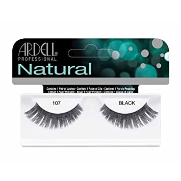 6fac0fa755c Buy Ardell Natural Eyelashes - 107 Black (65087) Online at Low Prices in  India - Amazon.in