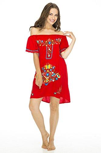 Dress Margarite Red Medium
